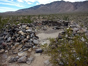 Rockhouse in Rockhouse Valley - Anza Borrego