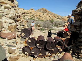 Railroad Construction Camp in the southern Anza Borrego Desert