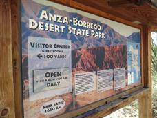Anza Borrego Desert Visitor's Center