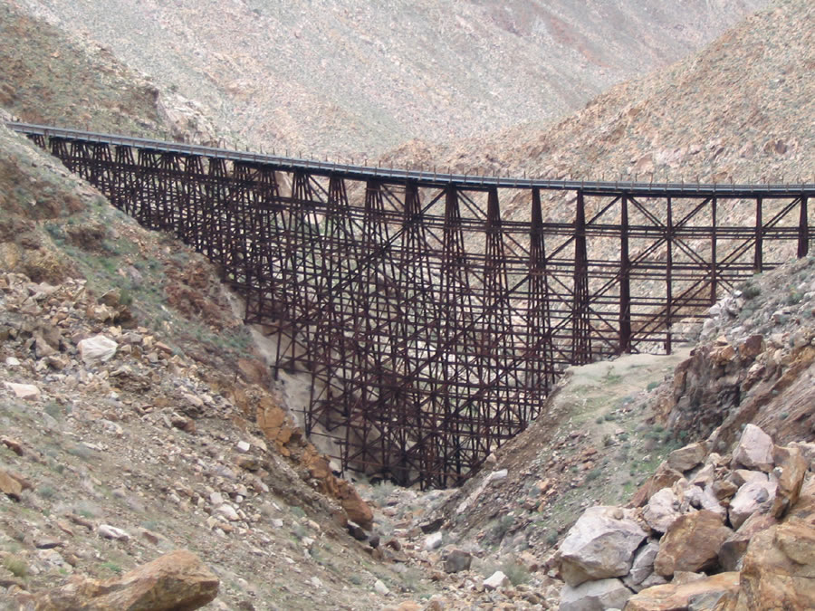 Goat Canyon Trestle Anza Borrego